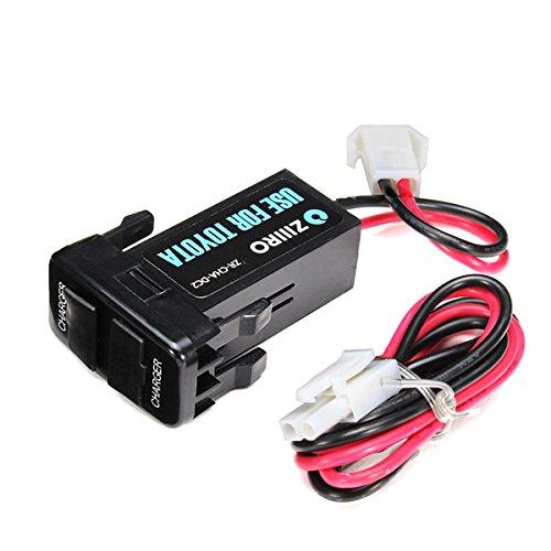 GOZAR 12V 3A Doble Puerto USB Power Socket Teléfono Celular ...