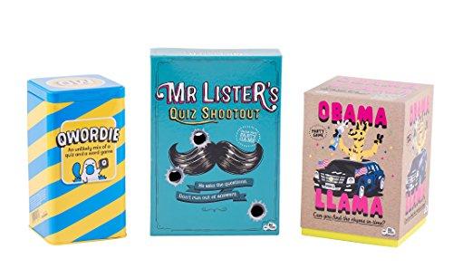 Big Potato Games Bundle - Obama Llama Game, Mr Lister's Quiz Shootout and Qwordie by Big Potato