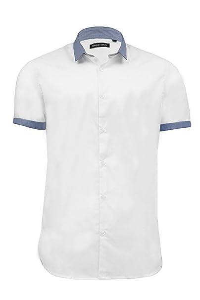 Azure Clothing Outlet - Camisa casual - para hombre: Amazon.es: Ropa y accesorios