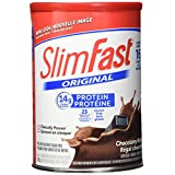 SlimFast – Original Meal Replacement or Weight Loss Shake Mix Powder - 14g of Protein – 23 Vitamins and Minerals – Great Taste - 530g - Rich Chocolatey Royale Flavour