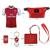 #29 Xhaka (6 in 1 Combo) Arsenal F.C. Home Match Adult Soccer Jersey 2016-2017