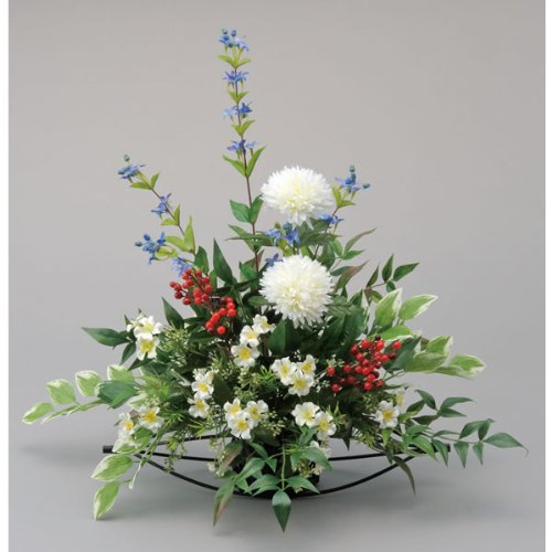 造花 アートフラワー「華やか」光触媒(空気清浄)フラワーアレンジ B06XRC6YH2