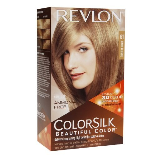 Revlon Colorsilk Beautiful Color, Dark Blonde 61 1 ea (Pa...