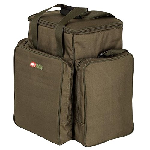 JRC Defender Bait Bucket and Tackle Bag, Green Moss from JRC
