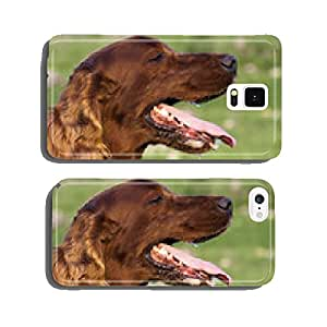 Drooling dog in a hot Summer day cell phone cover case Samsung S5