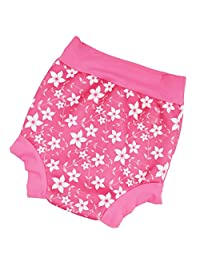 Baoblaze Washable Reusable Baby Swim Nappy Summer Diaper Swimming Pants Swimwear - Flower, 12-18M