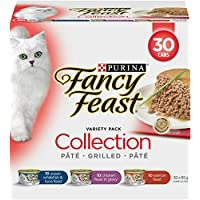 Purina Fancy Feast Collection Wet Cat Food Variety Pack - 85 g (30 Pack)