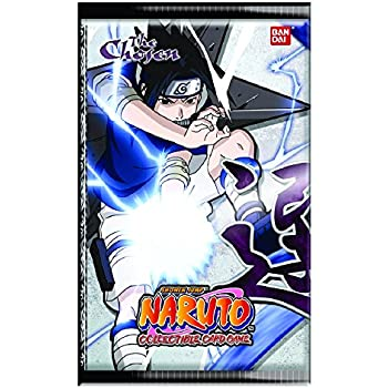 Amazon.com: Bandai Naruto Card Game Chosen Booster Pack ...