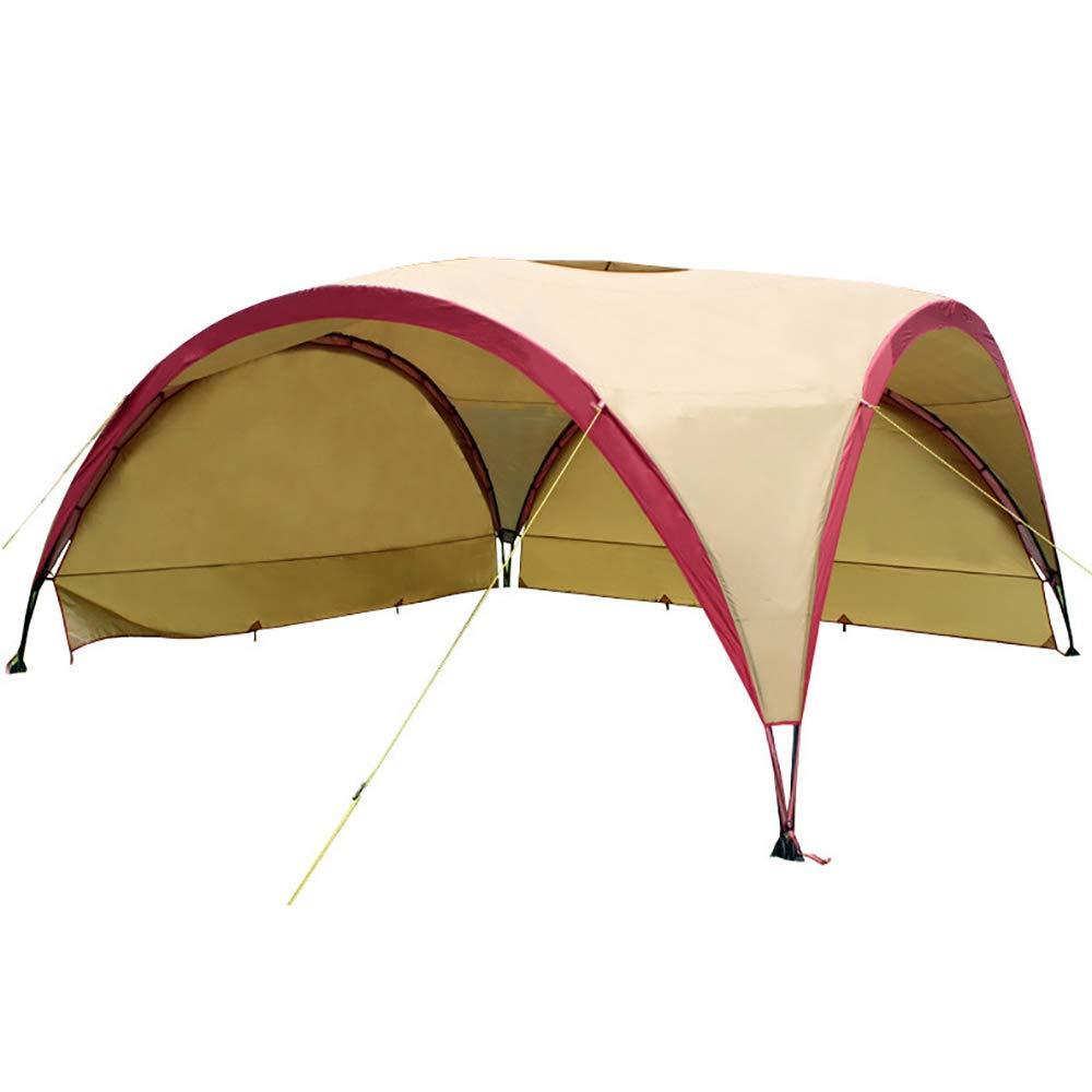 LBAFS Exposition D'activité De Publicité De Camping en Plein Air De Tente D'auvent De Parasol De Plage De Tente D'ombrage De Plage, 10 Personnes,marron marron -