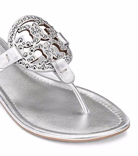 Tory Burch Silver Silver Women's Miller rrdHqt
