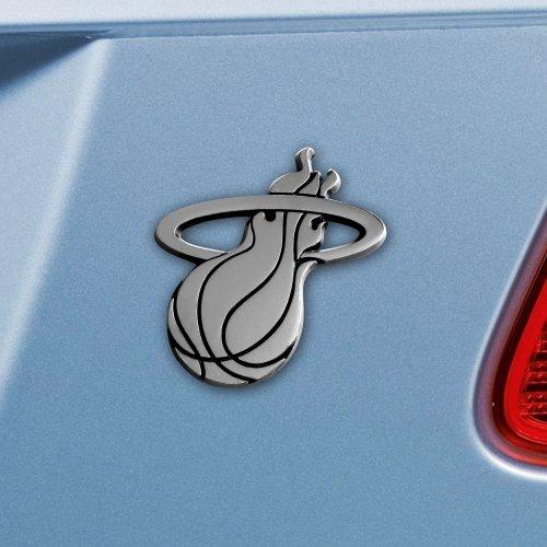 FANMATS NBA Miami Heat Chrome Team Emblem ()