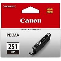 Canon CLI-251 Black Invidivudla Ink Tank, Compatible for...