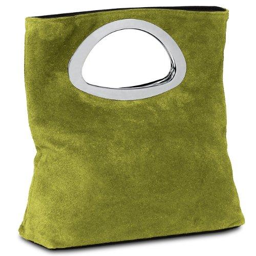pour vrai DAIM L'ORIGINAL Sac TL611 CASPAR femme olive vert beaux main à plusieurs en très coloris wxntYxpqf