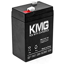 KMG 6V 4Ah Replacement Battery for Teledyne Big Beam LASER S64 S65 SQ6S5 WINDSOR