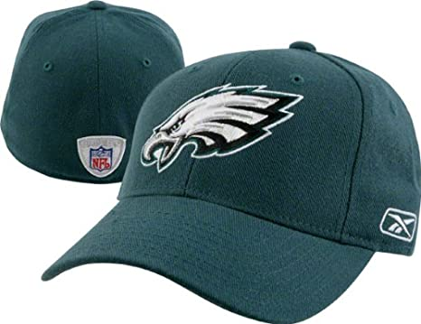 ee06e39b055 Image Unavailable. Image not available for. Color  Philadelphia Eagles  Reebok Fitted 7 3 8 Curved Bill Hat Cap
