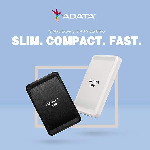 Adata Sc685 2 Tb Externe Solid State Drive Mit Usb 3 2 Computer Zubehör
