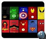 Superhero's United Superman SPiderman Batman Mouse Pad