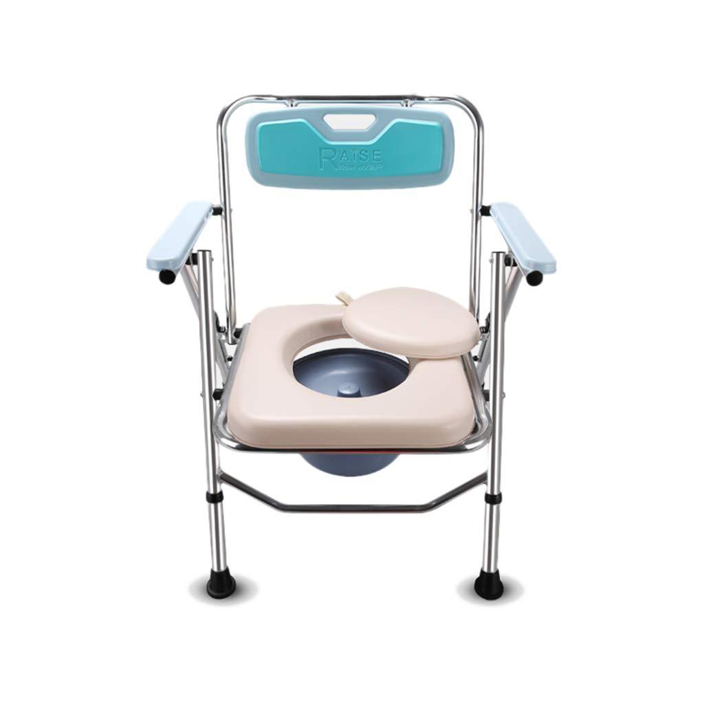 新作商品 ポータブルトイレ 折畳可 介護用 背もたれアームレスト付き B07GS3P8PS 軽量 仮設トイレ 防災 介護用 福祉センター 高さ調節可 アズワン コモド椅子 多機能椅子 高さ調節可 5 B07GS3P8PS, 大人の上質 :92a286c6 --- a0267596.xsph.ru