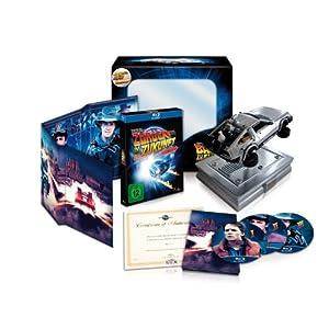 Zurück in die Zukunft - 25th Anniversary Trilogie (limitiert, inkl. Miniatur DeLorean)