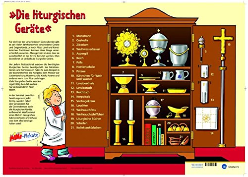 Die Liturgischen Geräte - MINI-Plakat: ergänzt mit Methodenhilfen für die MINI-Pastoral