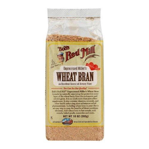 Bob's Red Mill Wheat Bran, 20 oz (2)