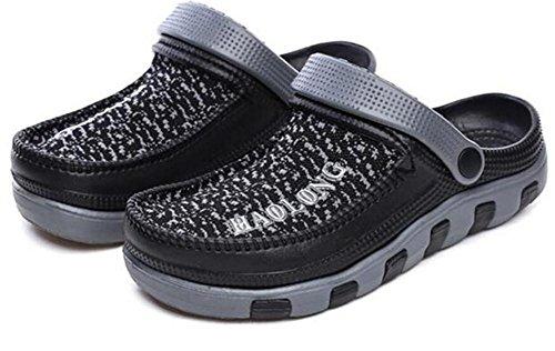 Chanclas Sandalias Zapatos Cierres Playa Verano 39 Brown Nslxie Con De Eva eu41 Tamaño Ocasionales Mulas Eu39 Black Zuecos Antideslizantes Suaves 43 Cerrados Hombre A dtxfc8wq