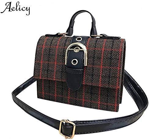 Aelicy, paquete de lujo para mujer, bolso de mano Retro a la