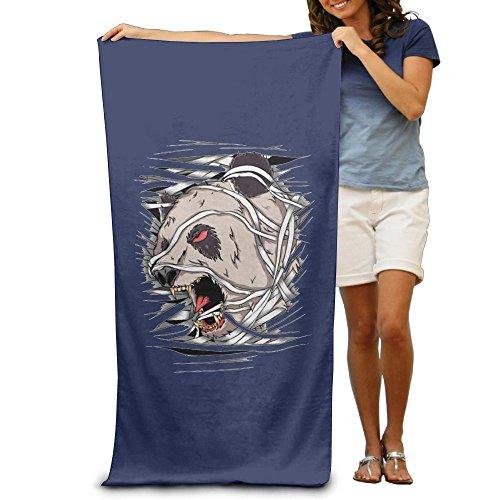 Kung Fu Panda Costume Pattern (ShanxianP Scary Panda Soft Lightweight Beach Towel Pool Towel 3050)