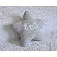 Cojín estrella para bebé personalizado. Un regalo original, decorativo y personalizado. Un bonito detalle para celebrar…