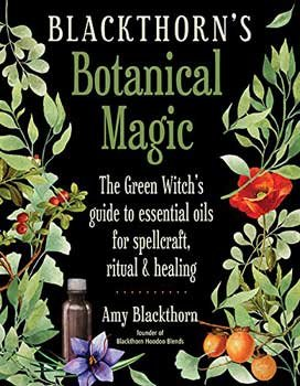 RBI Fortune Telling Toys Book Blackthorn's Botanical Magic by Amy Blackthorn by RBI