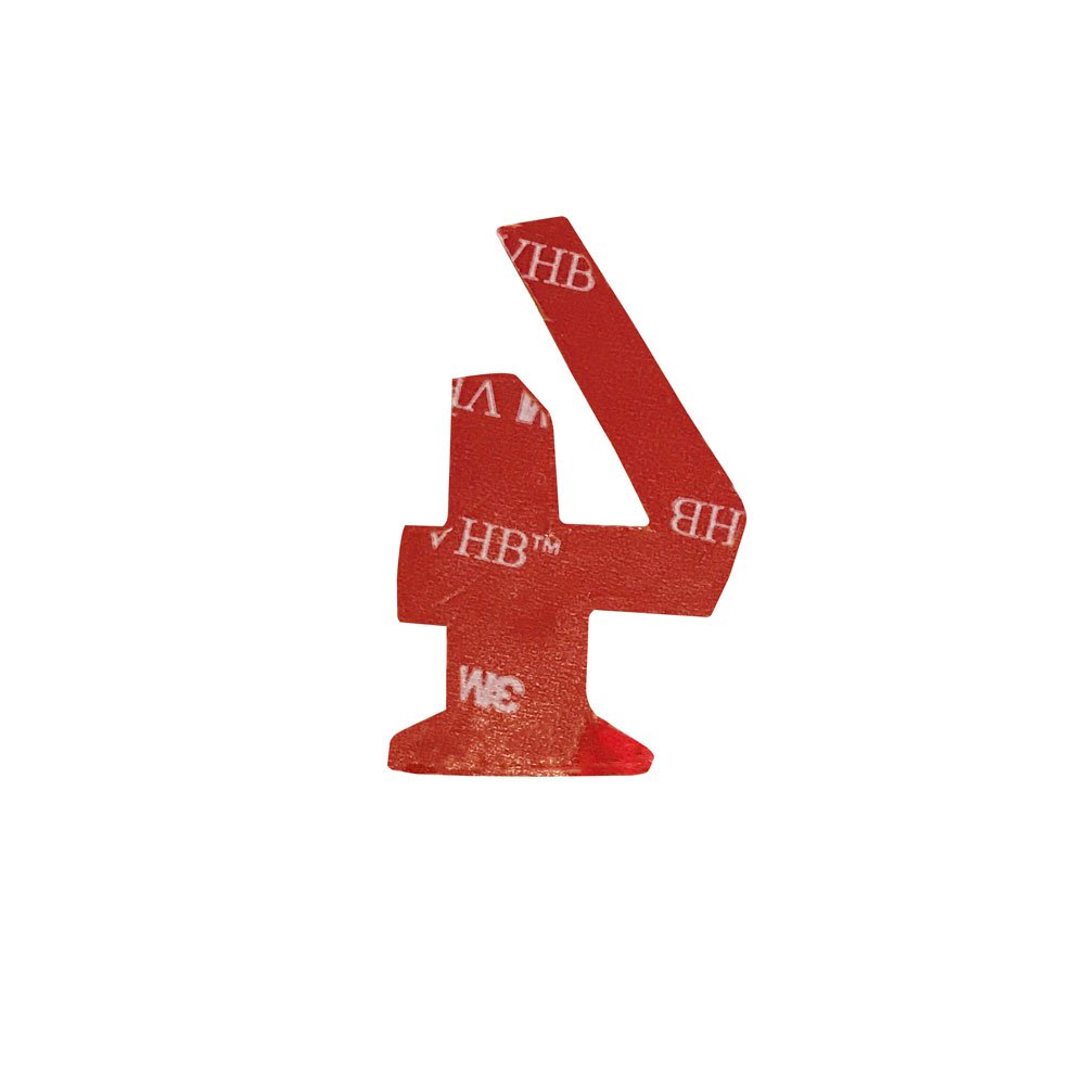 e3163e82acc3 Door Won't Tarnish Business Williamsburg Font Numbering for Address Plaque  Weather Resistant Home Self Adhesive ...