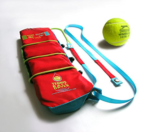 Tennis Ball Dryer   4 In 1 Tennis Accessory   Voted Best Tennis Gadget   Includes 4 Great Features In 1  The Perfect Tennis Gift For Any Player