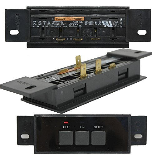 Whirlpool W10856868 Trash Compactor On/Off Switch Genuine Original Equipment Manufacturer (OEM) Part