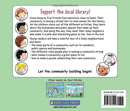 Look Where We Live!: A First Book of Community Building by Kids Can Press (Image #1)