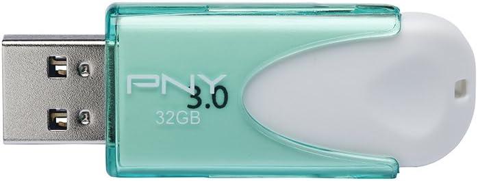 PNY Attach/é USB 3.0 Verde 32 GB Memoria USB