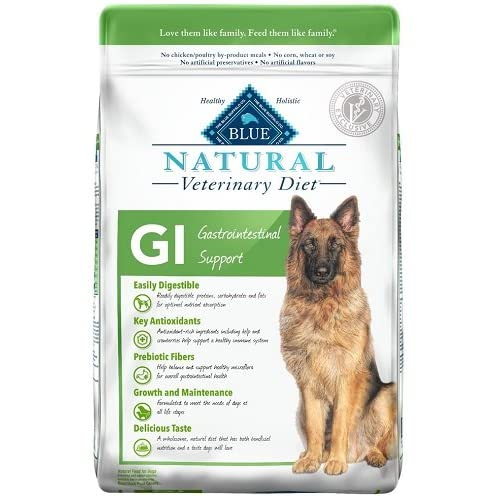 Blue Natural Veterinary Diet Canine Adult - GI (Gastrointestinal Support) w/ Chicken 6 lb by Blue Buffalo