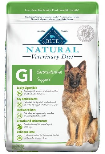 Blue Natural Veterinary Diet Canine Adult - GI  w/ Chi