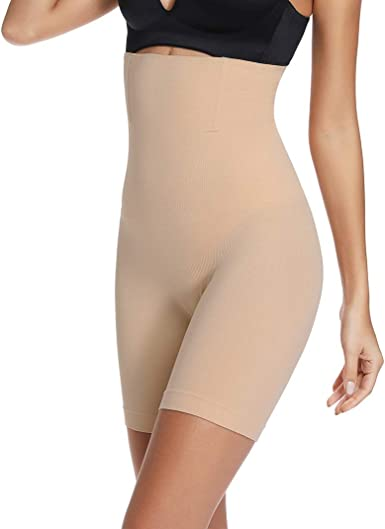 High Waist Body Shaper Shorts for Women Tummy Control Shapewear Shorts Thigh Slimmer Panties