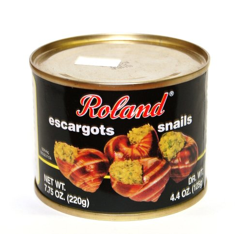 Roland - Escargots Snails, (6)- 7.75 oz. Cans