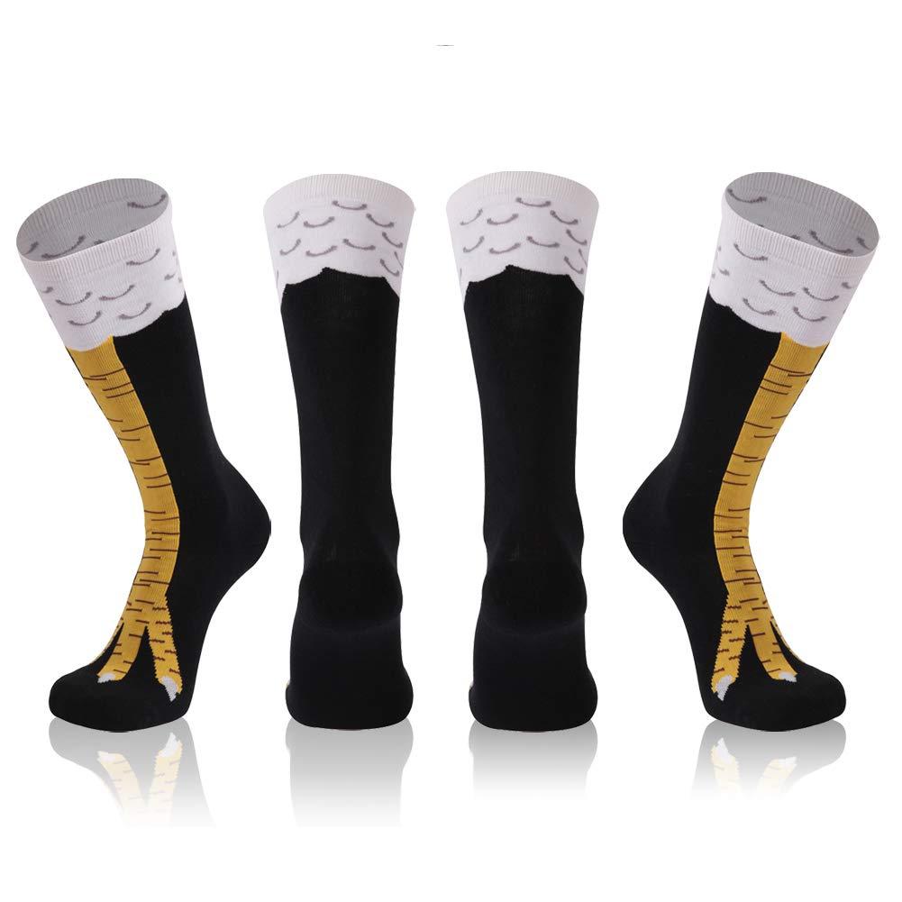 Gmark Socks, Unisex Novelty Cartoon Cotton Socks 1-6 Pairs E15070001-A