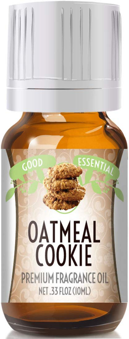 Oatmeal Cookie Scented Oil by Good Essential (Premium Grade Fragrance Oil) - Perfect for Aromatherapy, Soaps, Candles, Slime, Lotions, and More!