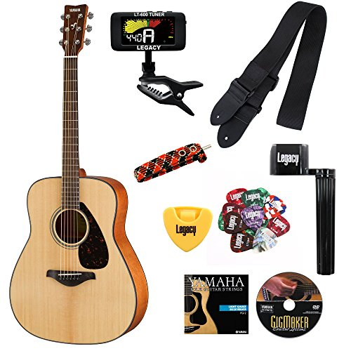 Yamaha FG800 Acoustic Accessory Choices