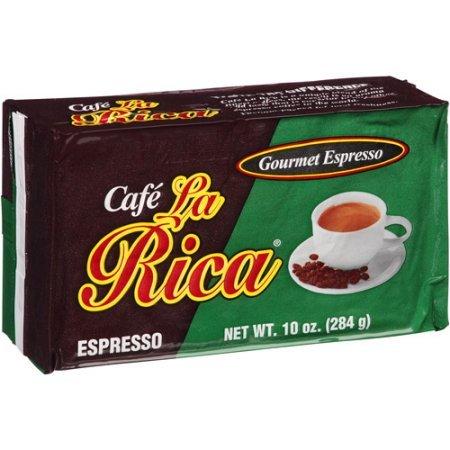 Cafe La Rica 10 PACK Cuban Espresso Ground Coffee 284 g by La Rica