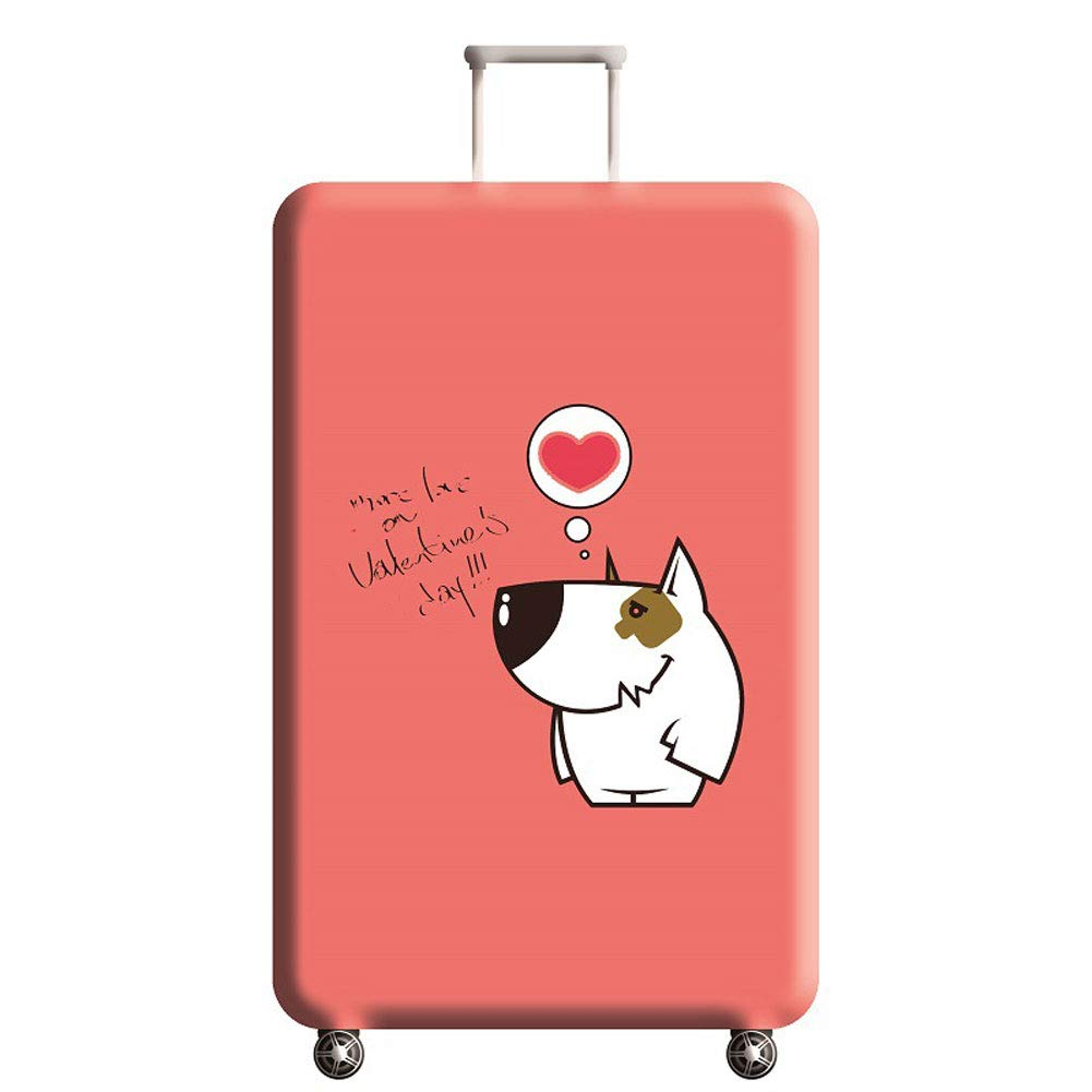 Travel Elastic Spandex Suitcase Protector Fits 18 to 32 Inch Luggage,A,M Hbwz Luggage Cover,Protective Washable Suitcase Cover