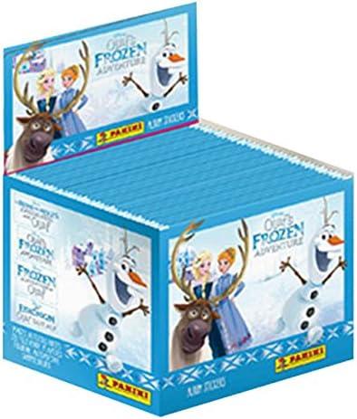 Olaf`s frozen Adventure Caja completa 50 sobres sorpresa Panini ...
