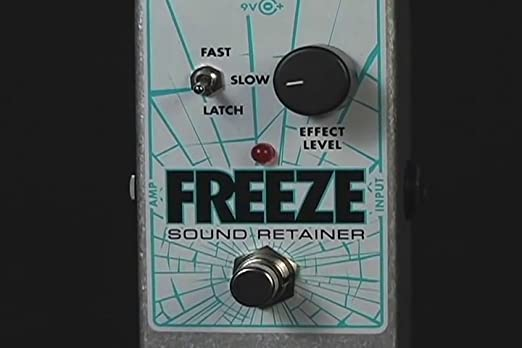 Upgrade Modify Your Electro-Harmonix Freeze Sound Retainer Guitar Effects Pedal