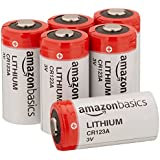 AmazonBasics Lithium CR123a 3V Batteries, 6-pack