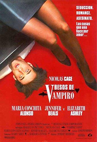 Vampire's Kiss 27 x 40 Movie Poster