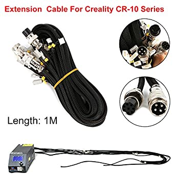 Creality 3D Printer Upgrade Parts Extension Cable Kit for CR-10/10S/CR-10 S4/CR-10 S5 Series 3D Printer Power Extension Cable