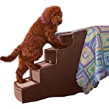 Pet Gear Easy Step IV, Pet Stairs, Chocolate